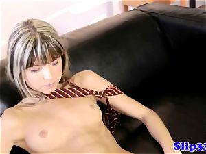 british babe brings herself to orgasm