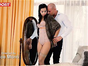 LETSDOEIT - crazy couple Has Retro dream raunchy intercourse